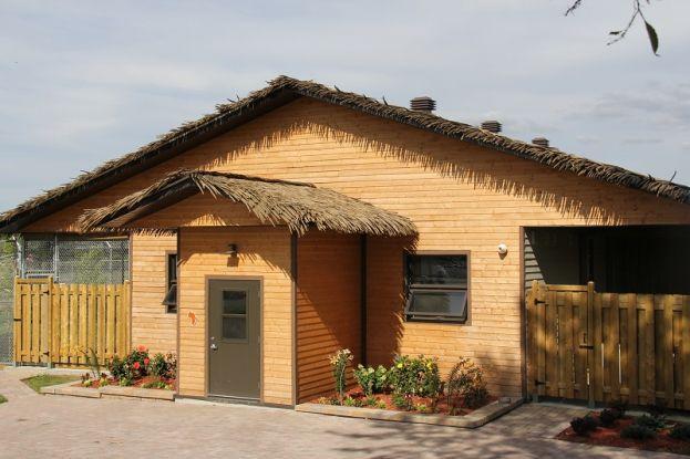 Des toitures Palmex pour les guépards du Parc Safari