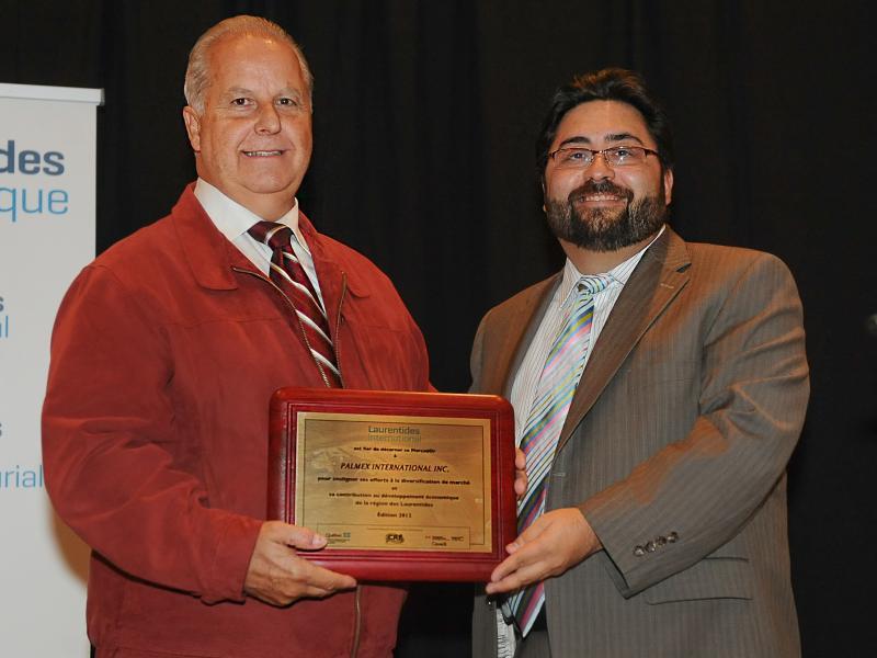 Palmex honorée au gala Les MercadOr 2012