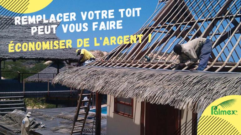 Remplacer votre toit peut vous faire économiser de l'argent!