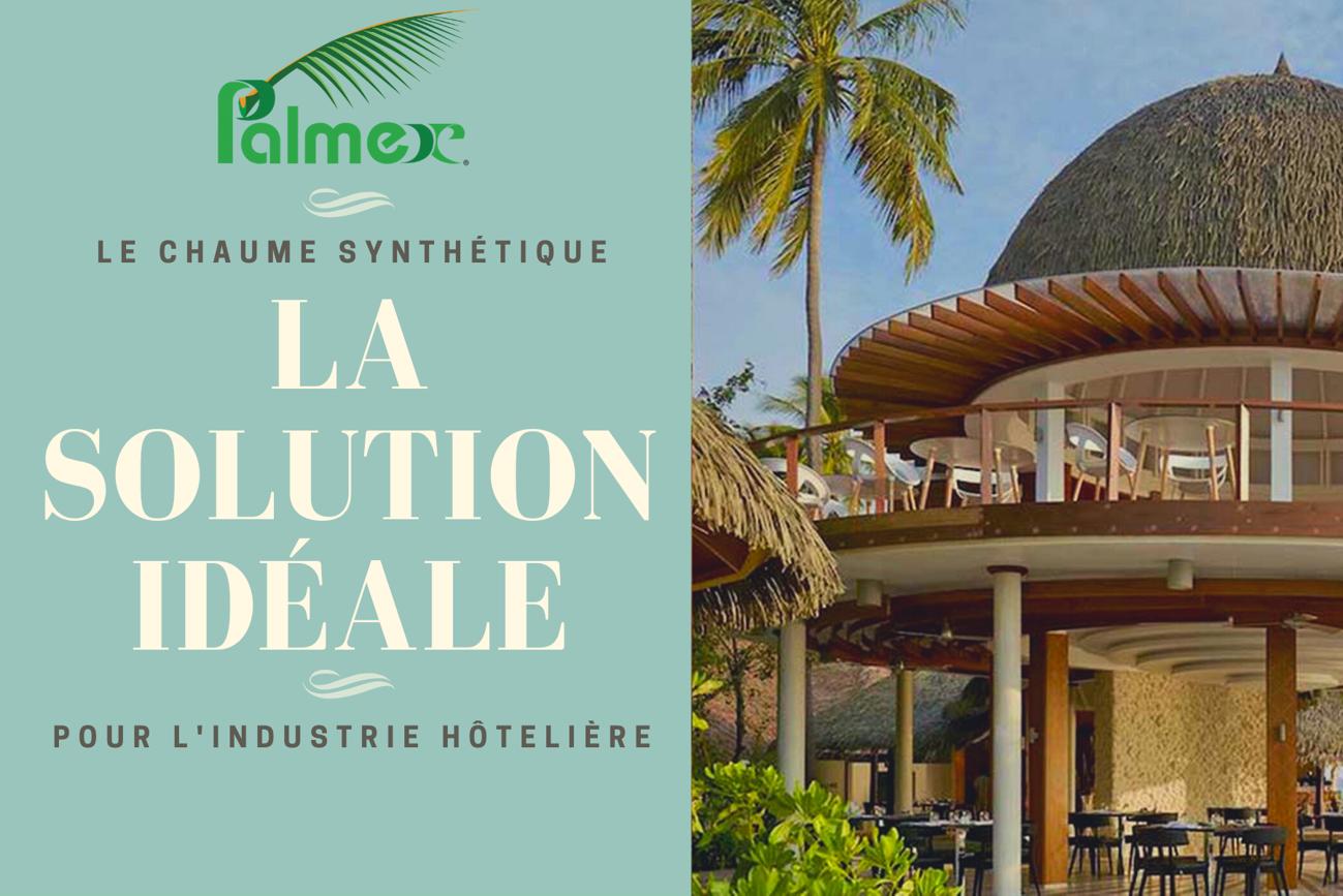 La toiture de chaume synthétique – la solution idéale pour l'industrie hôtelière