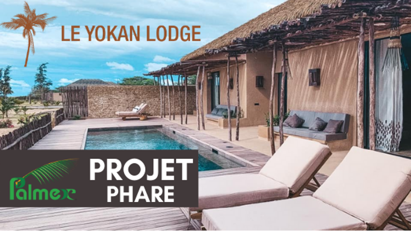 Projet Phare Palmex – Le Yokan Lodge